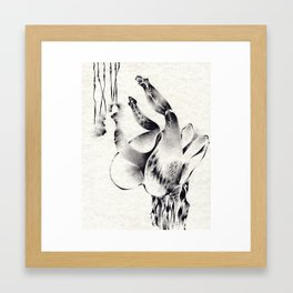 Reclining Figure II (Post-Partum) Framed Art Print
