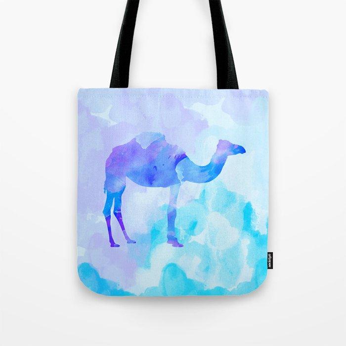 Abstract Camel Tote Bag