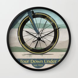 Tour Down Under Bike Race Wall Clock
