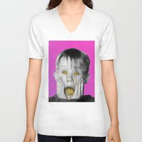 kevin russ V-neck T-shirts featuring Kevin by Douglas Hale