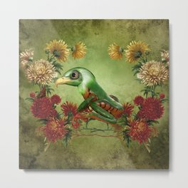 Awesome funny frogeagle Metal Print