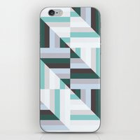 60s iPhone & iPod Skins featuring Maze | 60s by Wood + Ink