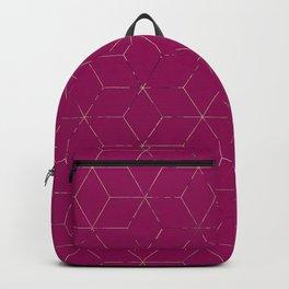 Cubed 3dPink Backpack