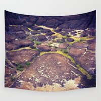 hawaii Wall Tapestries featuring Hawaii by Slow Toast