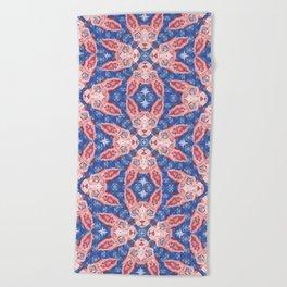 Sphynx Cat - Rose Quartz and Serenity version Beach Towel