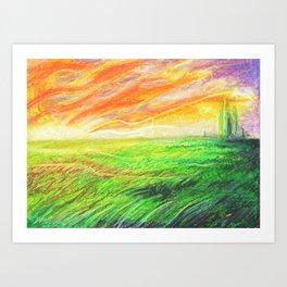 Radioactive Oz Art Print