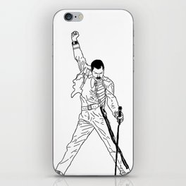 Don't Stop Me Now iPhone Skin