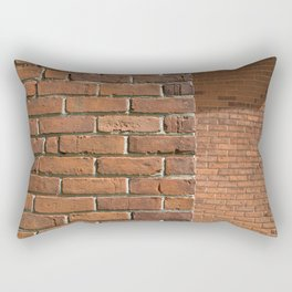Exposed Brick Rectangular Pillow