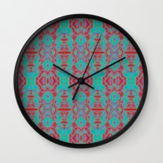Glow Tapestry Wall Clock