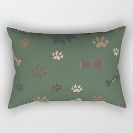 Woof-woof! Rectangular Pillow