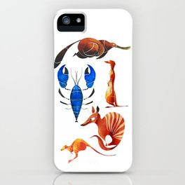 Australian animals 2 iPhone Case