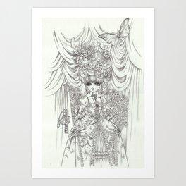 rococoprincess1 Art Print