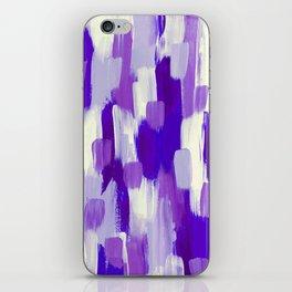 Purple Cora iPhone Skin