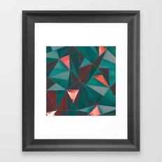 Mosaic Tiles Framed Art Print