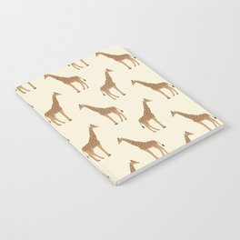 Giraffe animal minimal modern pattern basic home dorm decor nursery safari patterns Notebook