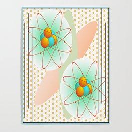 Mid-Century Modern Art Atomic 1.0 Poster