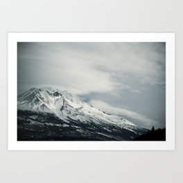 mount II (California)  Art Print