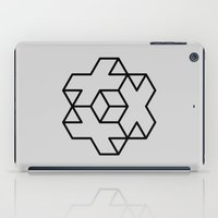 positive iPad Cases featuring Positive by Dizzy Moments