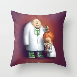 Mad About Basketball Throw Pillow