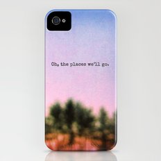 Oh, the Places We'll Go iPhone (4, 4s) Slim Case