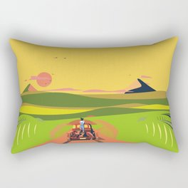 Farmhouse Hitchhiker Rectangular Pillow
