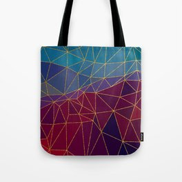 Autumn abstract landscape 7 Tote Bag