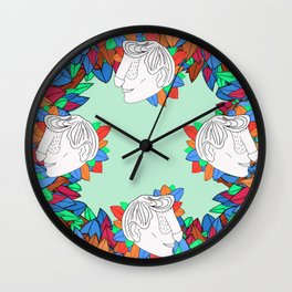 Dickface II Wall Clock