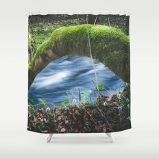 Enchanted magical forest Shower Curtain