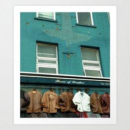 House Of Leather - Camden, London Art Print