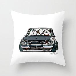 Crazy Car Art 0157 Throw Pillow