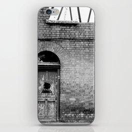 Abandoned [Black & White] iPhone Skin