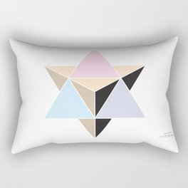 MI MERKABA - Light State Rectangular Pillow