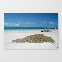 Whitsunday Island Canvas Print