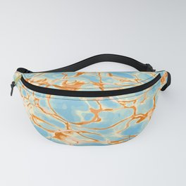 Abstract Water #abstract #pattern #society6 Fanny Pack