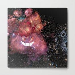 Space Gengar Metal Print
