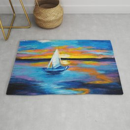 Sailing Away Rug