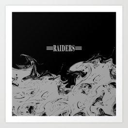 THE RAIDERS Kunstdrucke
