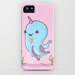 Little baby octopus iPhone Case