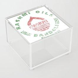 Rashmi Oils Vintage Acrylic Box
