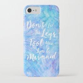 Mermaid | by Kukka iPhone Case
