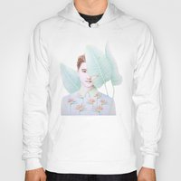 paradise Hoodies featuring Paradise by gaborovna