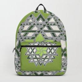 Ishwarya kolam - geometric mandala Backpack