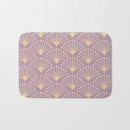 Vintage Art Deco pattern- Pastel dot dot dot Bath Mat