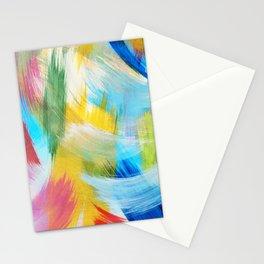Feathery Swirl Stationery Cards