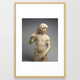 A Young Warrior, Tullio Lombardo Framed Art Print