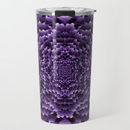 Chrysanthemum: Lilac Travel Mug