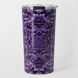 Chrysanthemum: Lilac Travel Mug