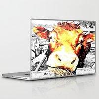 bull Laptop & iPad Skins featuring Bull by TexasDesignsByAmy