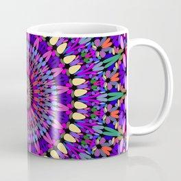 Bohemian Blossom Mandala Coffee Mug