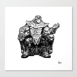 Thanos The Mad Titan Canvas Print